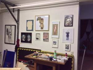 Mein Atelier. www.kaktrinklug.de